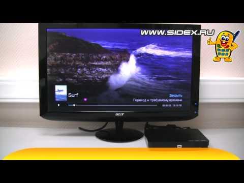 Sidex.ru: Обзор медиаплеера WD TV Live Hub 1Tb (rus)