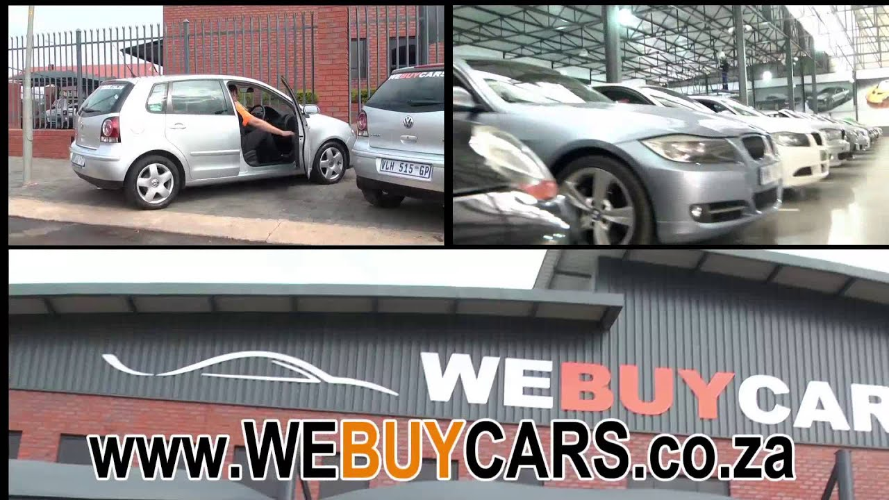 Webuycars.co.za Sell Your Car Quick and Painless - YouTube