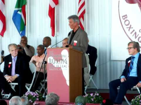 Michael Buffer: 2012 International Boxing Hall Of Fame Induction