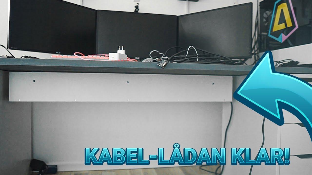 MONTERAR KABEL-LÅDAN! - VLOGG 003