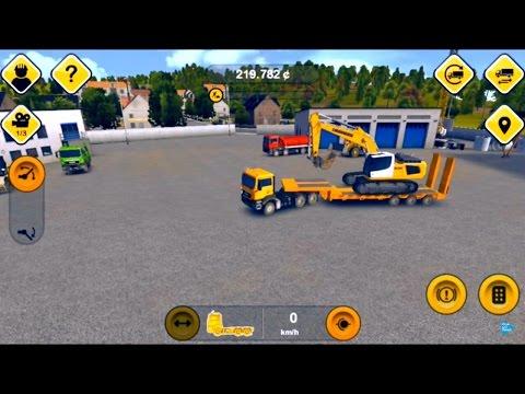 Игры и приложения для телефона и планшета. Строительный тренажер 2014. Construction Simulator 2014