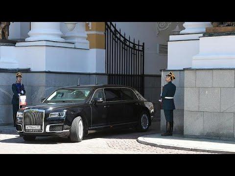 Putin presenta la limusina