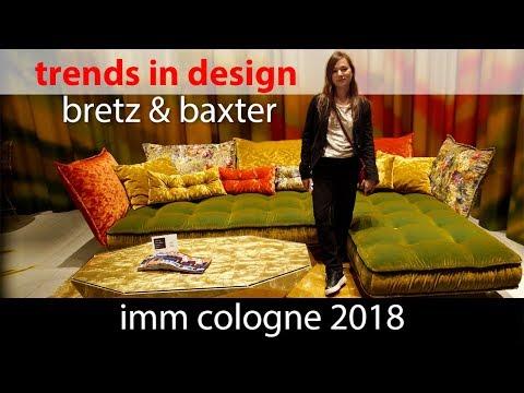 Тренды в дизайне интерьера. IMM Cologne 2018 Bretz & Baxter