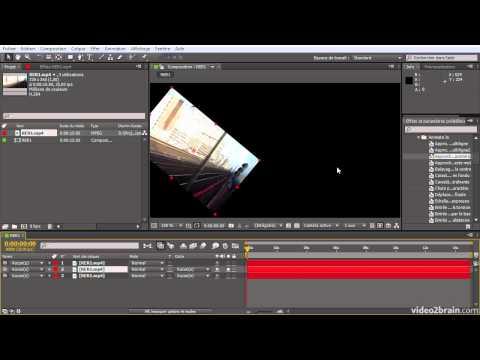 After Effects CS6 : Panneaux Composition et Montage