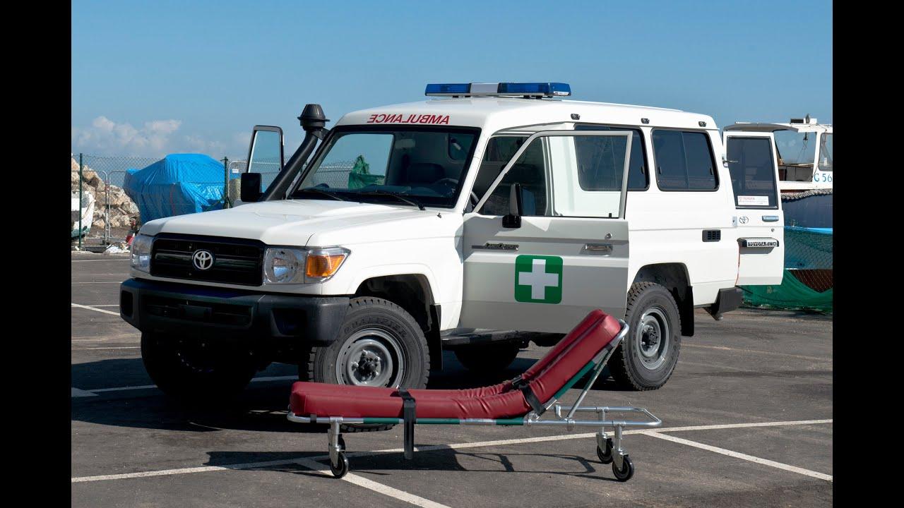 Land Cruiser 78 Hardtop Ambulance