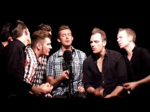 The Baseballs - Bleeding Love [HD] live + a cappella