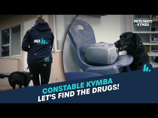 BONUS Constable Kymba: Let's Find The Drugs | Pete, Matt and Kymba | Mix94.5