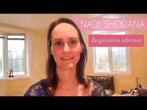 Respiration Alternee En Yoga Nadi Shodhana Youtube