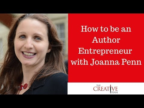How to be an Author Entrepreneur with Joanna Penn and Sukhi Jutla