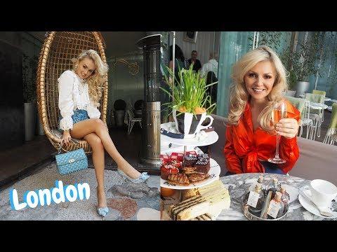 London vlog // Afternoon Tea & St Tropez Event //