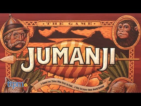 Jumanji Board Game Review And Rules | Cardinal Toys
