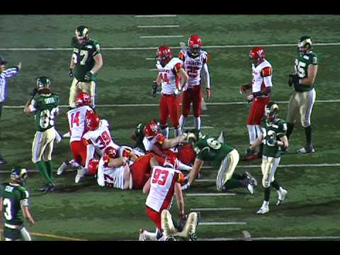 #97 Josh Symons Defensive Line 2012 Highlights