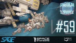 Space Engineers, Drone Forging (Singular Survival, Ep 59)