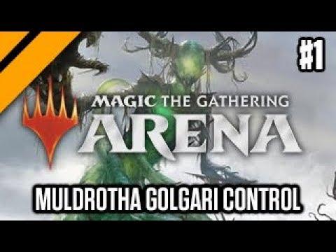 MTG:Arena Dominaria Drafts - Muldrotha Golgari Control P1 (sponsored)