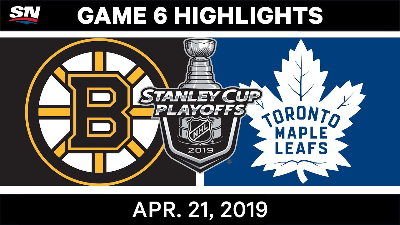 Nhl Highlights Bruins Vs Maple Leafs Game 6 April 21 2019 Youtube