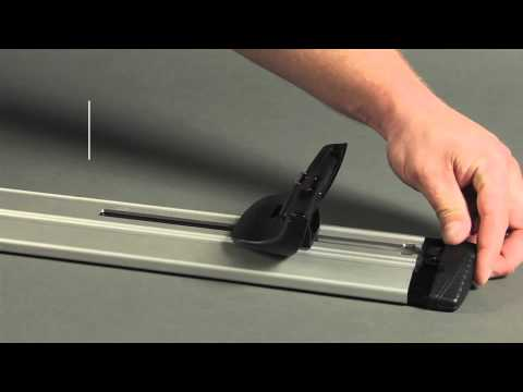 How To Install Thule 460r Rapid Podium Aeroblade Roof Rack