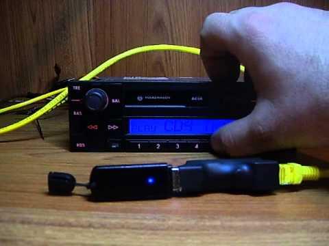 USB MP3 emulator cd changer -auto muzika