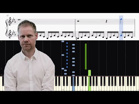 Max Richter - The Departure (The Leftovers) - Piano Tutorial + SHEETS