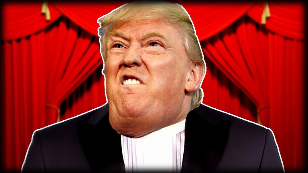 Donald Trump Gesicht