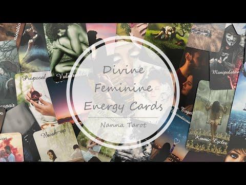 開箱  神聖女性能量指引卡 • Divine Feminine Energy Cards // Nanna Tarot