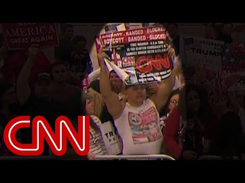 Video shows suspect Cesar Sayoc at Trump rally