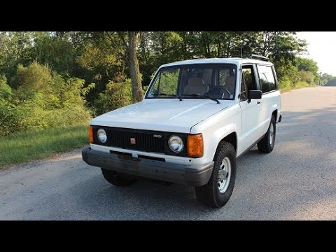 1986 isuzu trooper ii diesel. magnificent condition - youtube