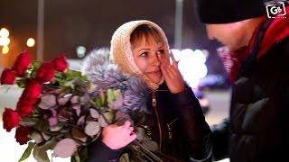 ПРЕДЛОЖЕНИЕ РУКИ И СЕРДЦА - Максим и Анастасия(Видео билборд, ДКГ Караганда)