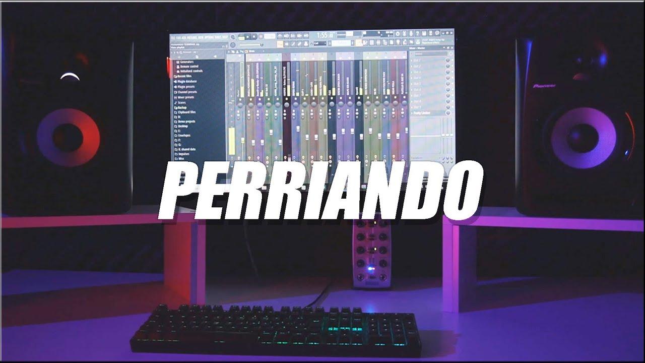 PERRIANDO (REMIX) JOWELL & RANDY ✘ DJ ALEX