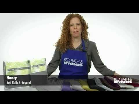 Pure Beech Jersey Knit Sheets At Bed Bath Beyond Youtube