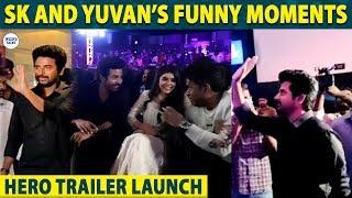 Sivakarthikeyan and Yuvan's Mass Entry | Hero Trailer Launch | SK