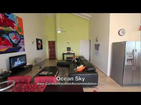 Beach front penthouse Ocean Sky Curacao