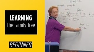 Beginner Level – Learning The Family Tree   English For You