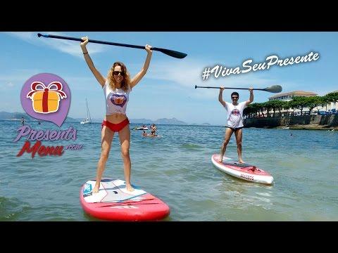 Stand Up Paddle SUP em Copacabana Rio de Janeiro - Presents Menu