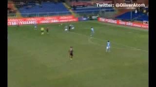 Golazo Rodrigo Palacio - Genoa Vs Napoli