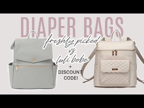 THE MOST BEAUTIFUL DIAPER BAGS! - Freshly Picked Vs. Luli Bebe