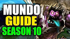 SEASON 10 MUNDO GAMEPLAY GUIDE - (Best Mundo Build, Runes, Playstyle) - League of Legends