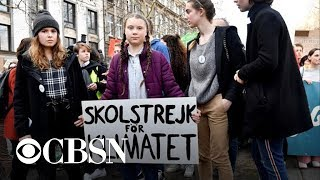 Teen activist Greta Thunberg on plans for strike against climate change