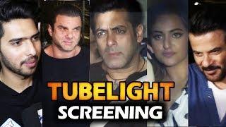 Tubelight Movie Screening | Salman Khan, Sohail, Anil Kapoor, Sonakshi