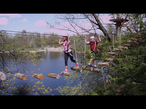treetop trekking ontario adventure parks youtube. Black Bedroom Furniture Sets. Home Design Ideas