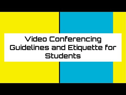 video-conferencing-guidelines-and-etiquette-for-students