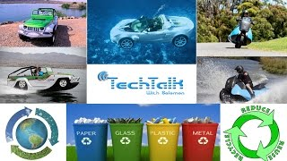 Special Vehicles That Can Float on Water & Recycling Technology - TechTalk with Solomon