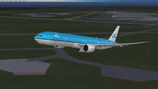 FSX: Schiphol to Kilimanjaro with a 777-300ER