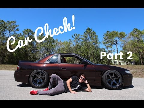 Car Check: Eric's Nissan 240sx coupe