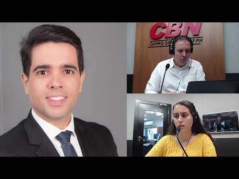 Entrevista CBN Campo Grande (02/04/2020) - Gabriel Haddad, advogado
