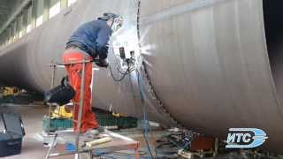 Сварка резервуаров (д.3,4 м) комплексом «Восход»(ЗАО Научно-производственная фирма