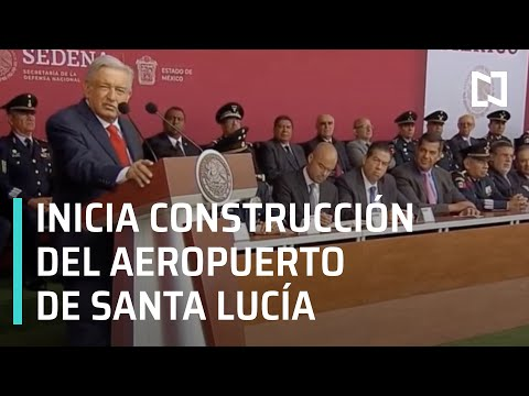 """Inicio de la Construcción del Aeropuerto Internacional """"General Felipe Ángeles"""""""