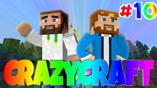 "Minecraft: Crazy Craft - Episode 10 - ""Deciding Time and Unlimited Butter!"""