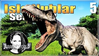 🦖 Welcome to our park T-Rex! | Sandbox | Let's play Jurassic World Evolution | Ep. 5 | Mp3