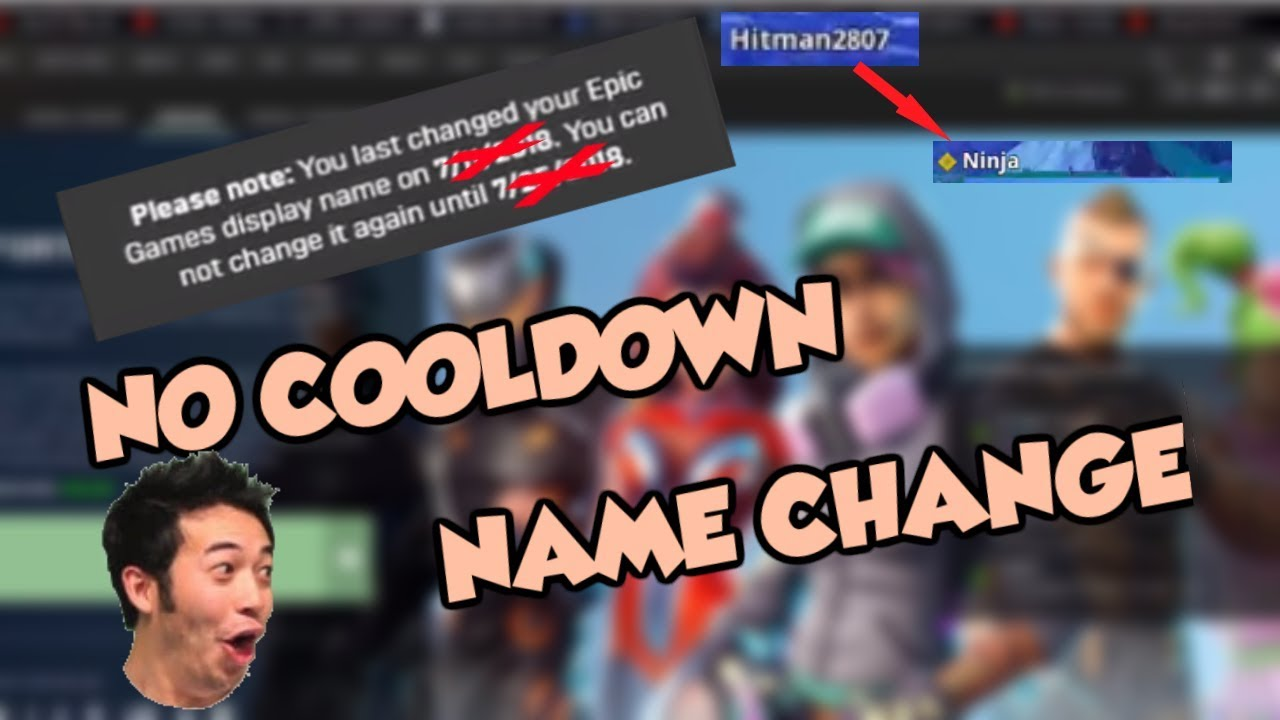 fixed how to always change your fortnite name without cooldown exploit - fortnite name change not working