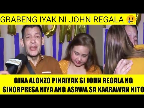 Download GINA ALONZO BINISITA SI JOHN REGALA SA KANYANG KAARAWAN, JOHN REGALA UMIYAK SA TUWA! RAFFY TULFO